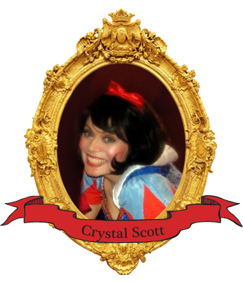 Crystal Scott, performer with Arnie Kolodner magic