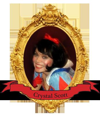 Crystal Scott, performer with Arnie Kolodner magic